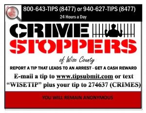 Crime Stoppers Business Card
